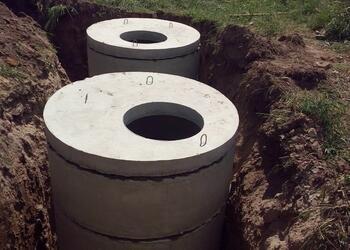 Бетонный септик - недорогое решение для канализации частного дома